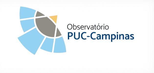 logo observatório PUC-Campinas
