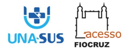logos UNA-SUS e Acesso Fiocruz
