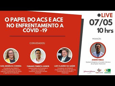 [Live] HubCovid: o Papel do ACS e ACE no enfrentamento da Covid-19
